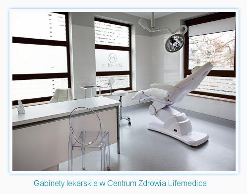 Gabinety w Lifemedica Gdańsk